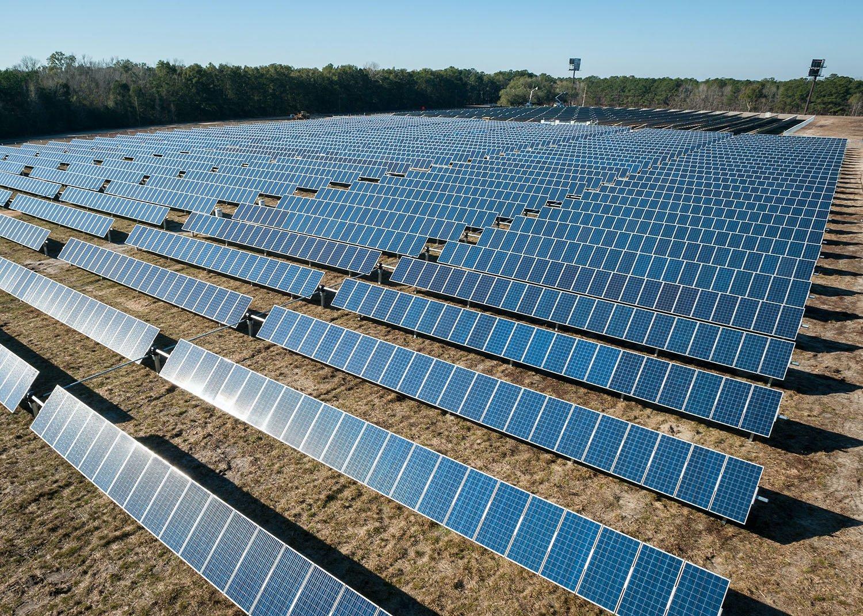North America Solar Services Revenue
